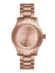 Womens Rose Gold Bracelet Watch