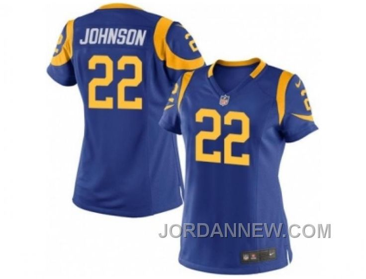 http://www.jordannew.com/womens-nike-los-angeles-rams-22-trumaine-johnson-royal-blue-alternate-stitched-nfl-jersey-for-sale.html WOMEN'S NIKE LOS ANGELES RAMS #22 TRUMAINE JOHNSON ROYAL BLUE ALTERNATE STITCHED NFL JERSEY FOR SALE Only $23.00 , Free Shipping!