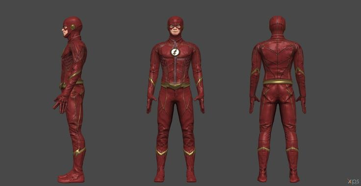 Flash CW Injustice 2 by SSingh511