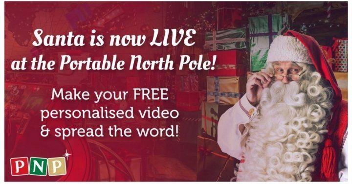Free Video Message From Santa Claus @ Portable North Pole http://www.lavahotdeals.com/ca/cheap/free-video-message-santa-claus-portable-north-pole/143773?utm_source=pinterest&utm_medium=rss&utm_campaign=at_lavahotdeals