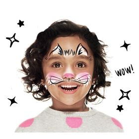 How to face paint a Cat look | Snazaroo.com
