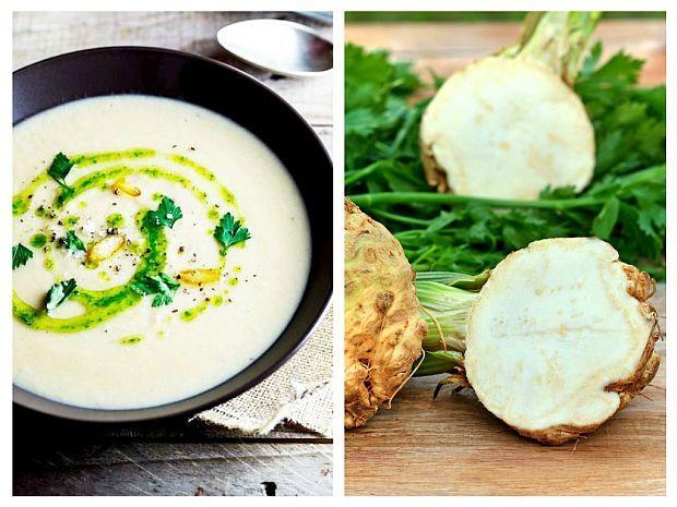 Supă rece din ȚELINĂ și NUCI | La Taifas