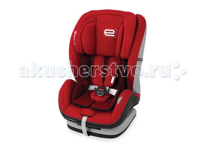"""Автокресло Espiro Kappa  Автокресло Espiro Kappa (9-36 кг).   предназначено для перевозки детей весовых групп : 1/2/3 (от 9 до 36 кг) безопасность: соответствует Европейскому стандарту безопасности ECE R44/04; изготовлено на предприятии, имеющем сертификат ISO 9001.  способ крепления: штатными автомобильными ремнями безопасности.  Комфортное автомобильное кресло Espiro Kappa имеет: 5 положений наклона сиденья позволяет оптимально отрегулировать его во время поездки до уровня """"полулежа""""…"""