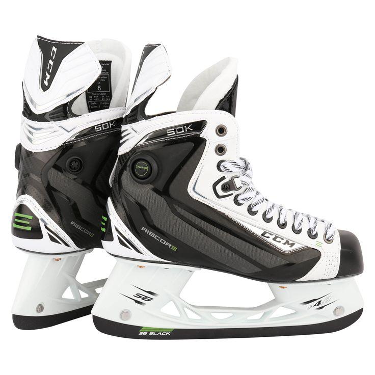 CCM RibCor 50K LE White Sr. Ice Hockey Skates