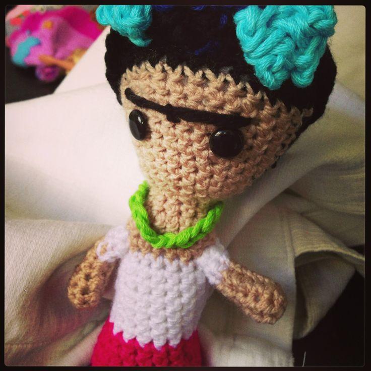 Frida Kahlo #amigurumi