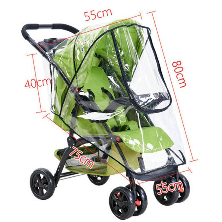 Stroller Cover - Universal Stroller Cover for Rain and Wind