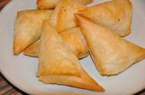 Greek Phyllo Cheese Triangles