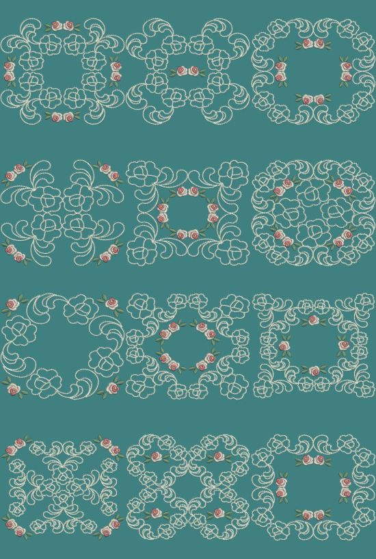 TS906 - #Applique #Quiltblocks 1 These Applique Quiltblocks can be done in various ways. You can stitch them using Printed Fabric to make a two tone block. Stitch them using the same fabric for the applique and backing to make a single tone block or just skip the first two colors on the design to make a normal quiltblock. The choice is all yours!!! http://www.threadsnscissors.com/applique/956-ts906-applique-quiltblocks-1  #threadsnscissors #embroidery #machineembroidery
