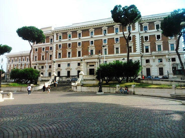Palazzo Viminale.Рим