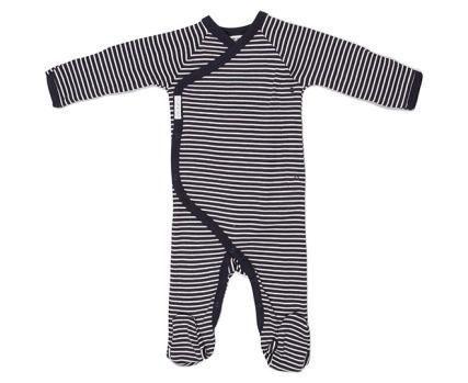 Navy Stripe Bonds Coverall Suit
