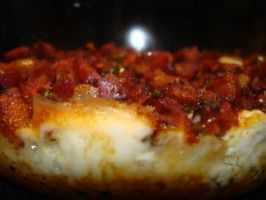 Queso Fundido With Chorizo. Photo by Vicki in CT