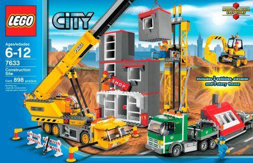 LEGO City Construction Site http://www.bestdealstoys.com/lego-city-construction-site/