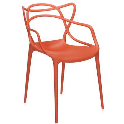 Midcentury Modern Dining Chair from Wayfair Canada This sleek, versatile and eco-friendly indoor-outdoor seat is a piece of contemporary plastic furniture with the designer's unmistakably edgy and innovative style.