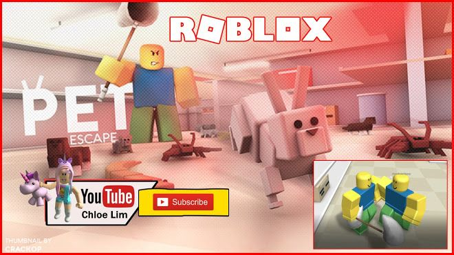 Roblox Pet Escape Gameplay - The game was free to play for two days And Played as a little bunny rabbit