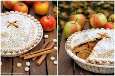 Jablečný koláč - Apple pie www.peknevypecenyblog.cz