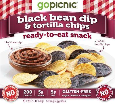 Black Bean Dip & Tortilla Chips: A Gluten-Free, Vegan, Kosher & Non ...