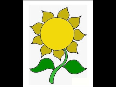 11 Gambar Bunga Matahari Hitam Putih Untuk Kolase Foto Pemandangan Hd Menggambar Bunga Matahari Gambar Bunga Kolase