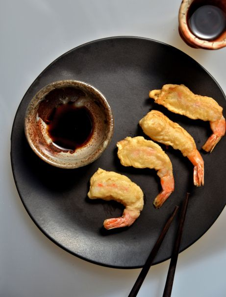 темпура tempura shrimps