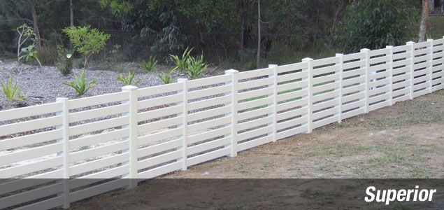 Semi Privacy Fence Everlast Vinyl Fencingeverlast Vinyl