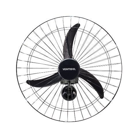 Ventilador de Parede 60cm 200W Bivolt Preto 543 - Ventisol