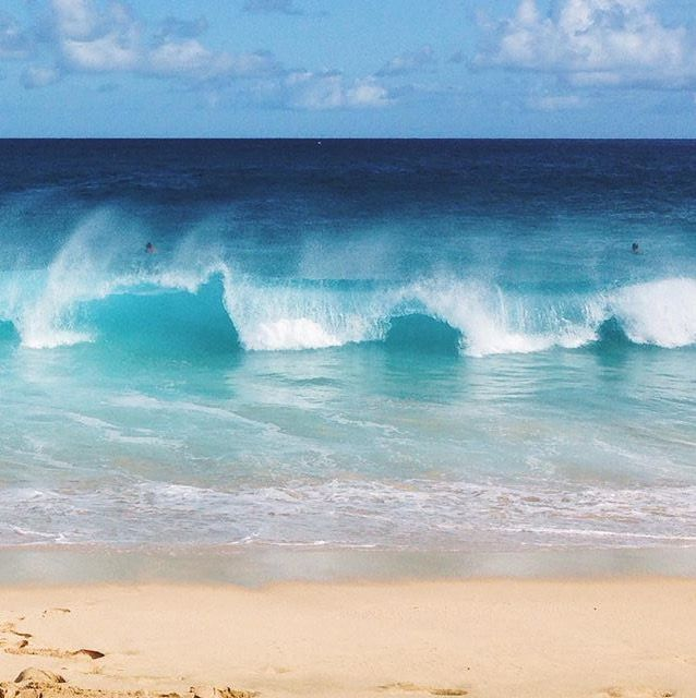 Images of Love Beach Waves Picture - #SC