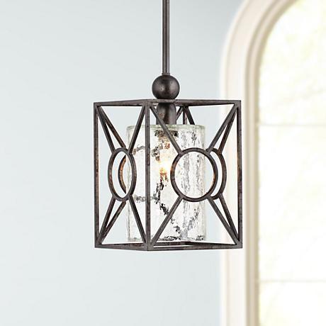 arbela one light mini pendant by uttermost lighting - Uttermost Lighting