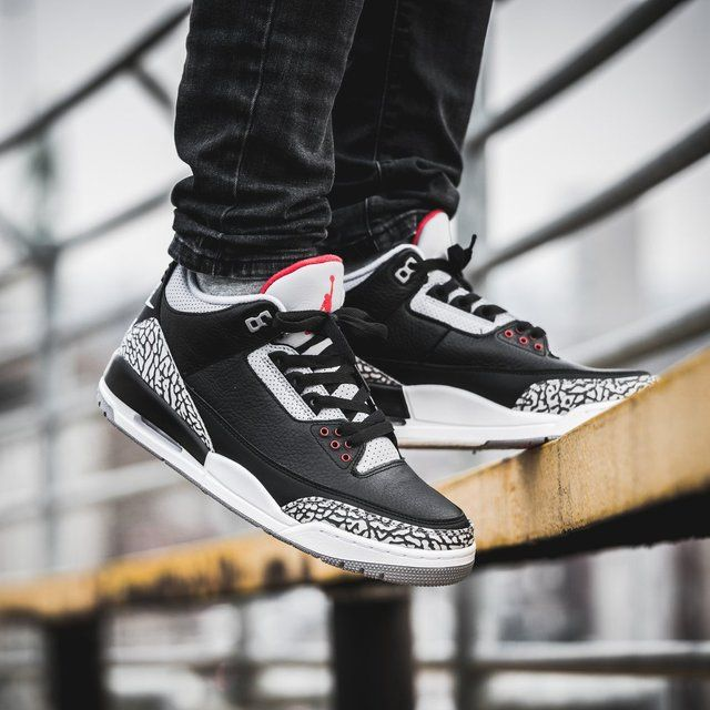 uk availability 60343 4534b Jordan 3 Retro Black Cement 2018 in 2019 | Fashion & Style ...