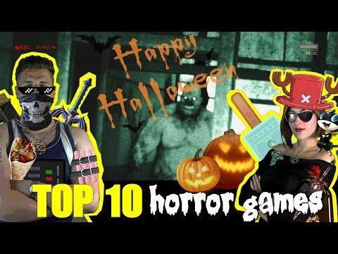 🎃 Pyrit & Stephi 👻 - Our Favourite Horror Games - Top 10 Horror Games 👻 Halloween Special - YouTube