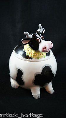 Cow Cookie Jar: