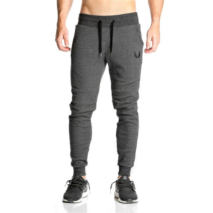 >> Click to Buy << Autumn Men cotton pants sweatpants Fitness Men's workout bodybuilding casual sweatpants joggers pants skinny Trousers Britches #Affiliate