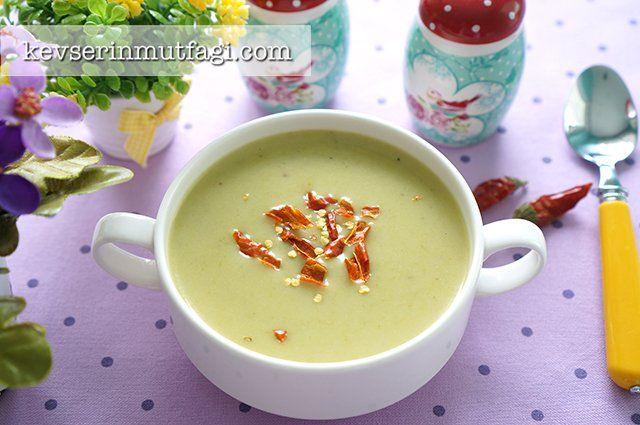 Kuşkonmaz Çorbası Tarifi | Kevserin Mutfağı - Yemek Tarifleri