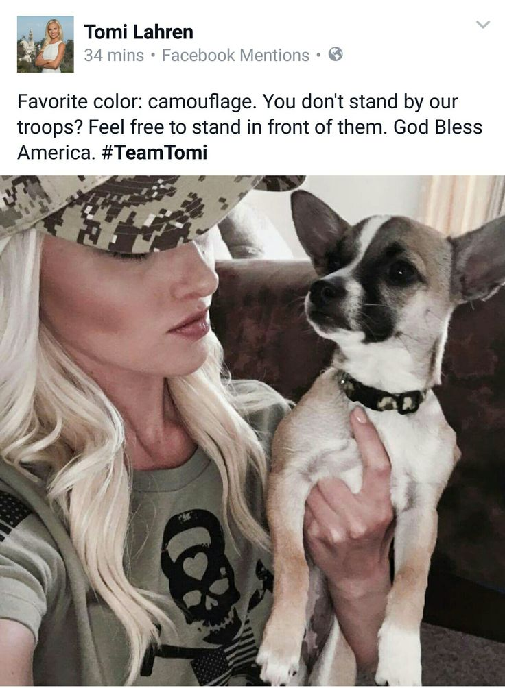 You don't stand for our troops? Feel free to stand in front of them. - Tomi Lahren