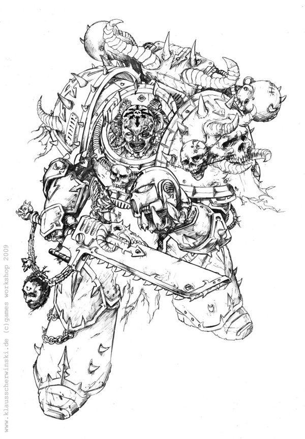 Dark Creed Warhammer 40K by KlausScherwinski.deviantart ...