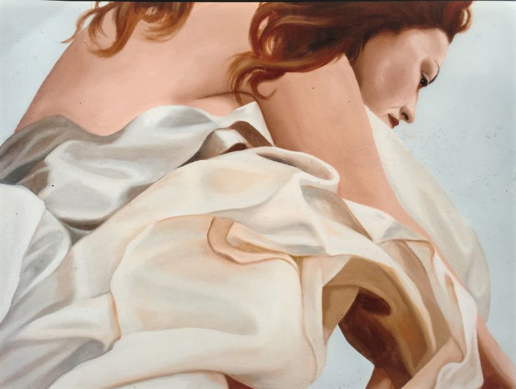 By Tara Green, Detail from painting Oil on canvas