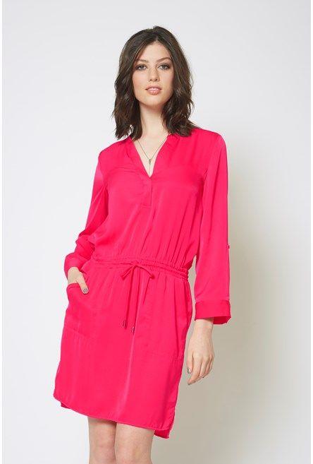 Block Colour Shirt Dress from @maxfashions @westfieldnz #backtowork