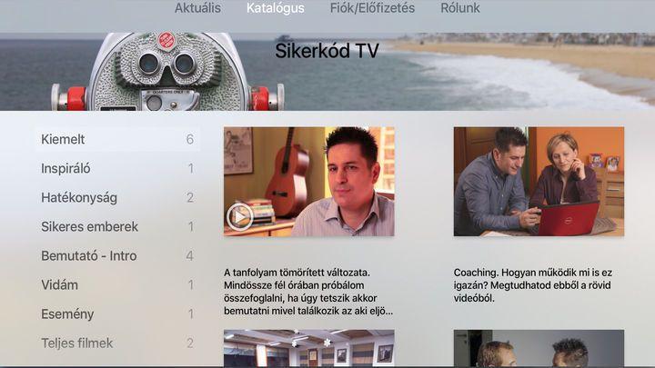 Sikerkód TV by Istvan Szabo