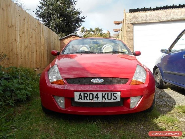 Street KA Convertible Sports Car Red 2004 16 For Spares Or Repair No MOT Ford