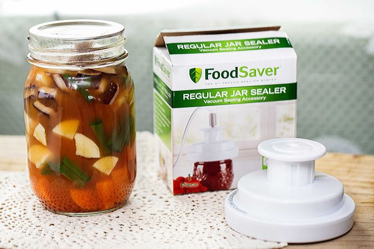 How to Seal Jars With a Food Saver (with Pictures) -  If a meal has a lot of powder ingredients, you can still use the jar attachment.  I personally prefer to cut a coffee filter down to fit inside the jar or you can also use a cupcake liner.