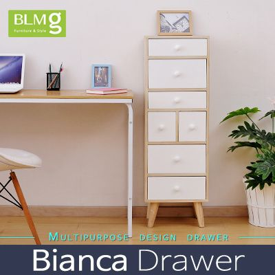 [S$77.90][Singapore Christmas Gift][BLMG_SG] NEW ARRIVALS! Bianca Drawer★Storage★Cabinet★Furniture★3color★Wood★chest of drawer★Orgarnize★modern★scandinavian★Storage box