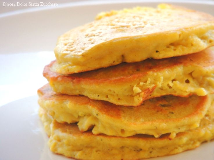 pancake senza farina e senza glutine