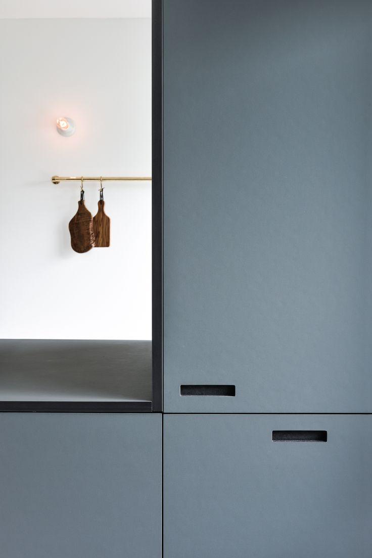 Pewter - Onntop - Shufl - andshufl / 4155 #overflade #forbo #interiordesign #linoleum #køkken