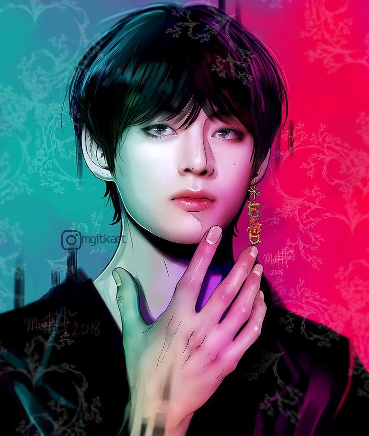 Jungkook Wallpaper Black