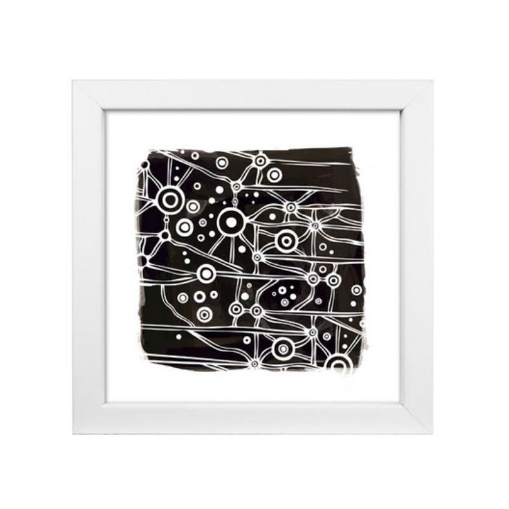 Burrul Warrambool // Milky Way print by Lucy Simpson of Gaawaa Miyay available via Corban & Blair