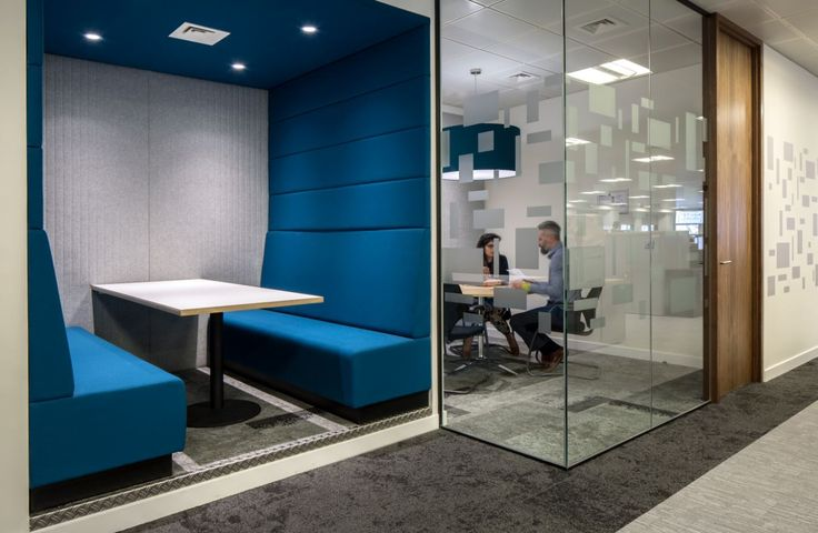 Willis Towers Watson - Welwyn Garden City. Copyright: Workplace Creations Ltd. #wpclondon #agileworking #acoustic #booth #quiet #collaborative #meetingroom #manifestation #modern #office #design #officedecor #fitout #interiordesign #itmatters