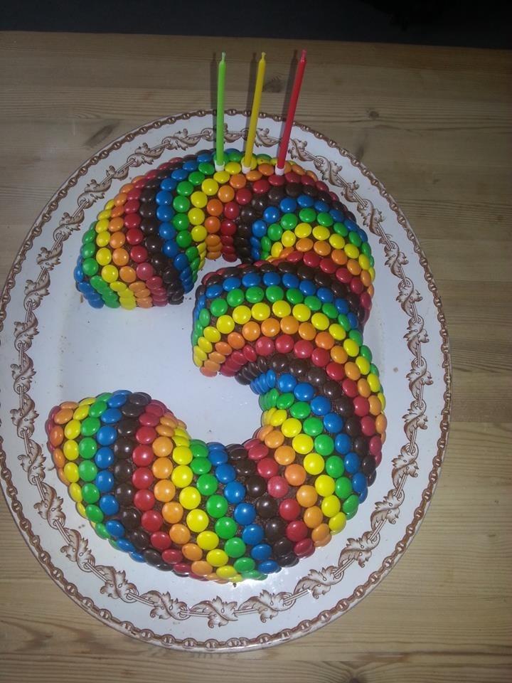 Awesome birthday chocolate cake!