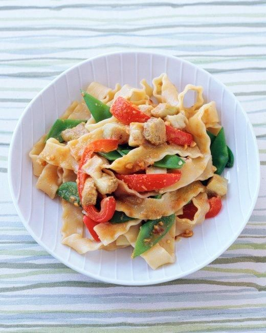 Asian pasta dishes