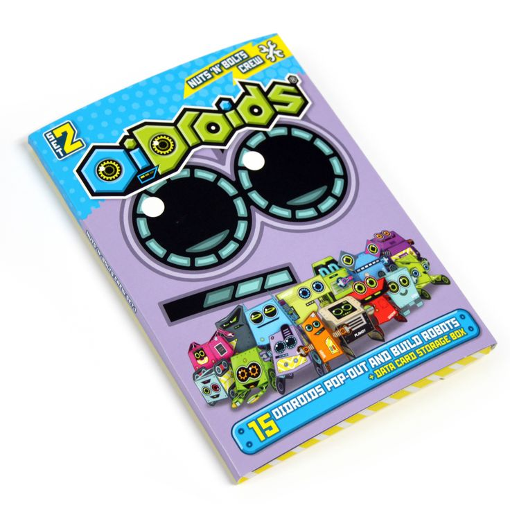 OiDroids Nuts 'n' Bolts Crew Set 2 pack