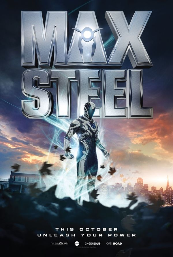 New Max Steel Movie Poster Revealed