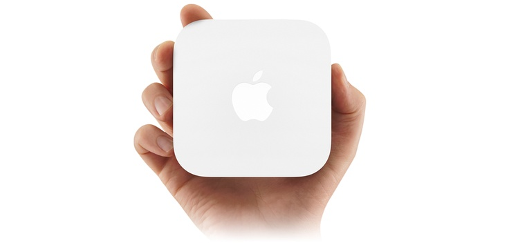 Apple - AirPort Express - A powerful little Wi-Fi base station.