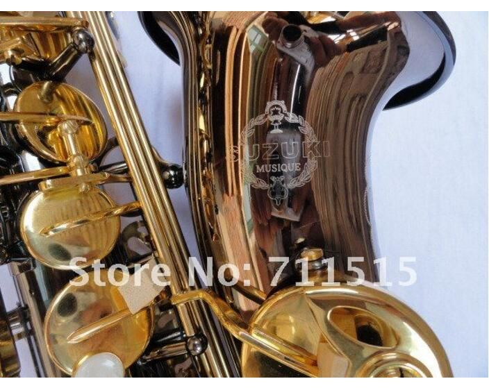 ==> [Free Shipping] Buy Best SUZUKI Shipping EMS Genuine France Selmer Alto Saxophone Professional Saxophone Surface Electroplating Black Nickel Gold Paint Online with LOWEST Price | 32795445672